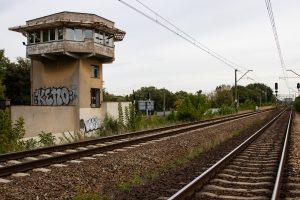 Galeria zdjęć prezentuje odcinek kolejowy Poznań-Rokietnica przed modernizacją we wrześniu 2018 roku.