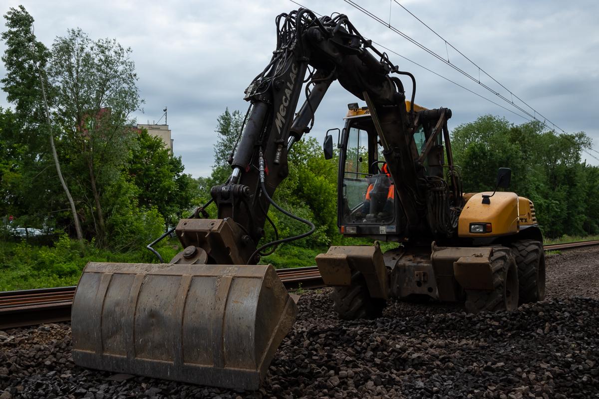 Poznań POD - prace budowlane