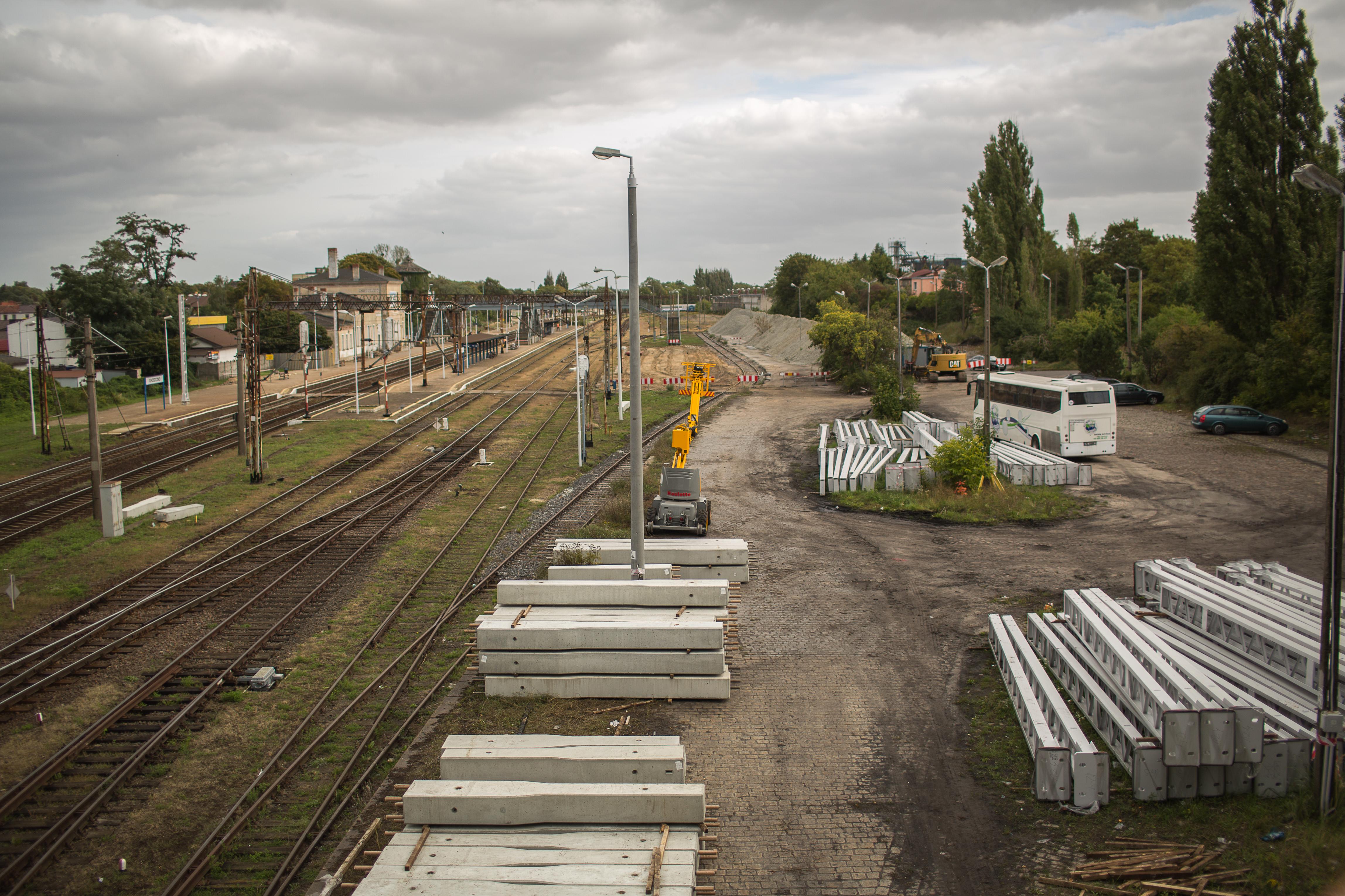 Choszczno - prace budowlane