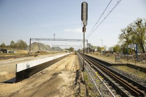 Galeria zdjęć pokazuje prace na szlaku Stargard-Dolice, które miały miejsce w kwietniu 2020 roku.