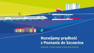 Miniatura filmu przedstawia planszę początkową, na której znajdują się kolorowe kamienice oraz pociąg dojeżdżający do stacji. Film opowiada o nocnym montowaniu rozjazdów na stacji Szamotuły. Tytuł filmu brzmi Rozwijamy prędkość z Poznania do Szczecina.