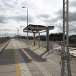 Sesja z października 2020 roku przedstawia gotowe zdjęcia peronów stacji Choszczno oraz Stary Klukom.