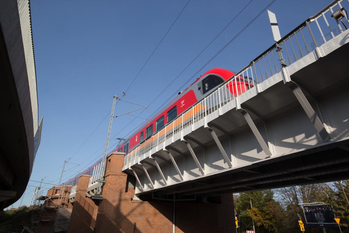 Wiadukt kolejowy w Poznaniu