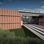 Zdjęcia przedstawiają budowę tymczasowego objazdu nadlinią Tczew – Kostrzyn, którazapewni utrzymanie ruchu kolejowego między Wielkopolską aPomorzem Zachodnim.