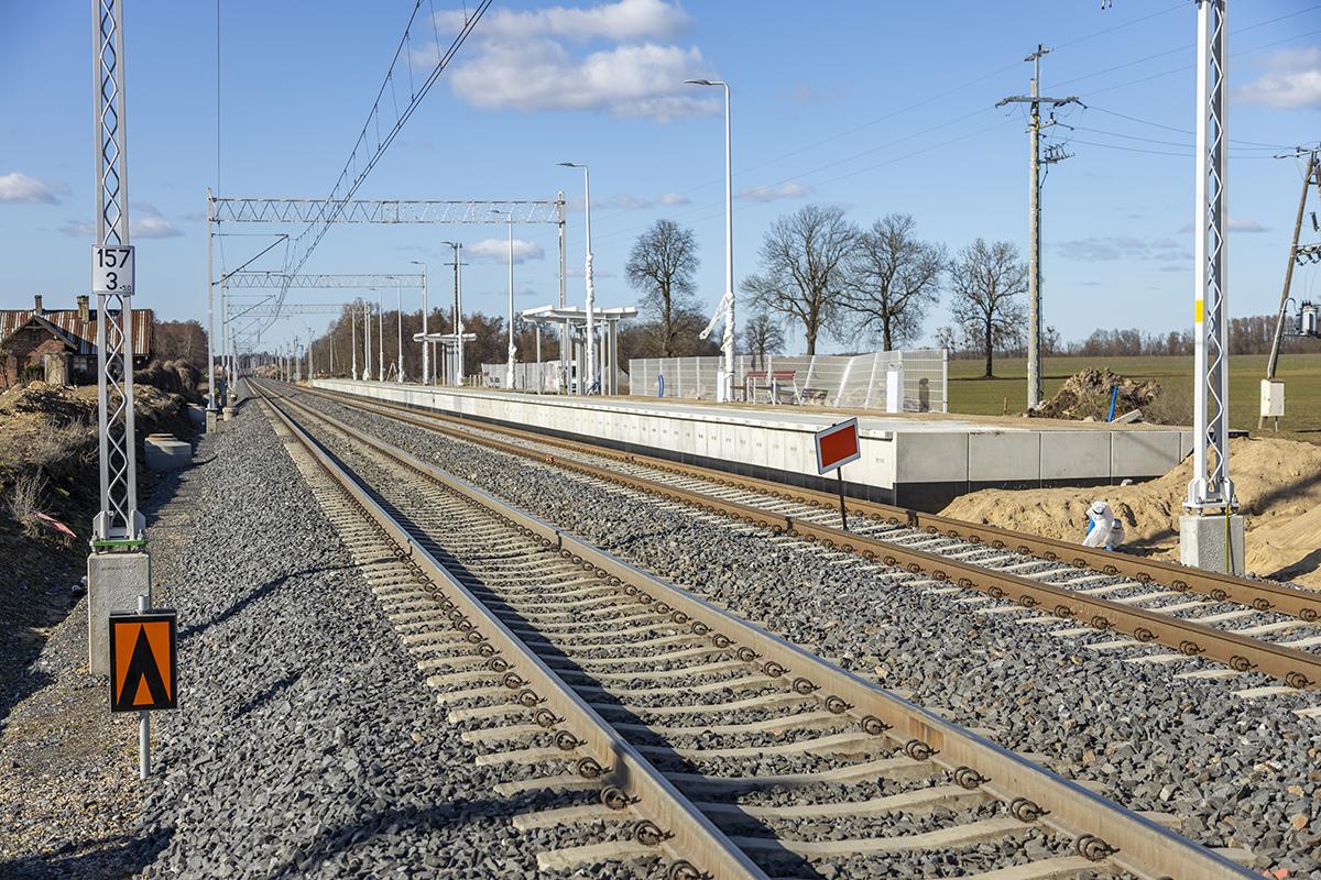 Galeria zdjęć przedstawia prace na szlaku Choszczno-Stargard, które miały miejsce w marcu 2021 roku.