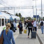 Galeria zdjęć przedstawia postęp prac na stacji Choszczno oraz przystanku Stary Klukom.