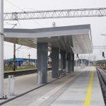 Galeria zdjęć przedstawia postęp prac na stacji Dolice.